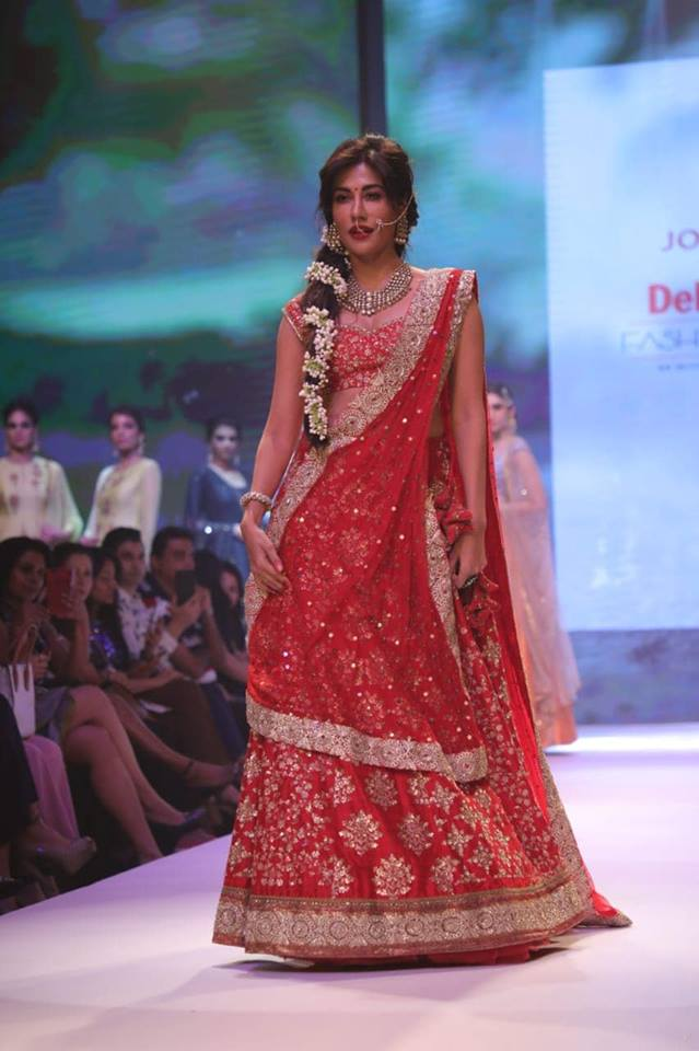 Chitrangda Singh at Delhi Times Fashion Week 2018